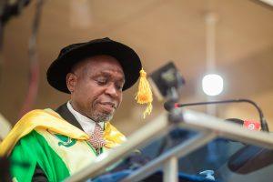 Prof. Edem Kwasi Bakah, President of E. P. university College
