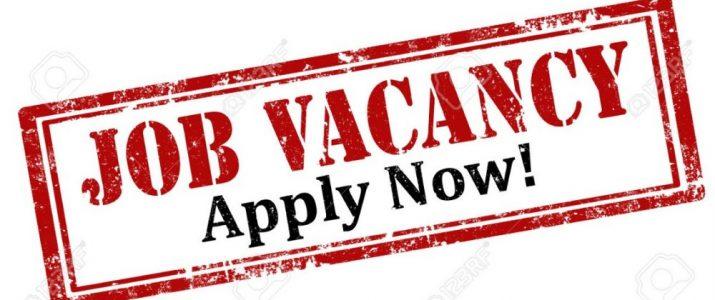 Job Vacancy – Finance Officer